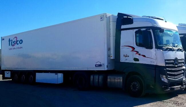 tisco transporte frigorifico refrigerado servicios empresa logistica crevillente alicante pagina