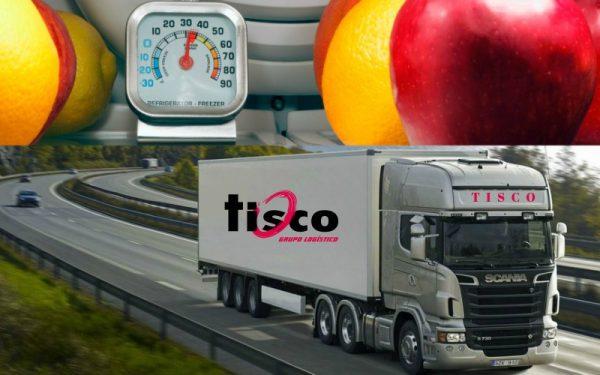 transporte de alimentos refrigerados seco carretera frutas verduras tisco crevillent alicante camión
