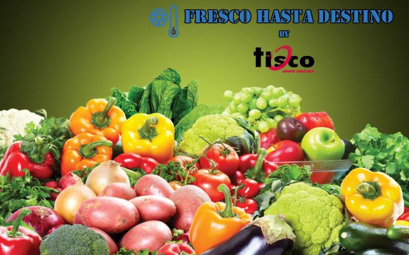 transporte de alimentos refrigerados seco carretera frutas verduras tisco crevillent alicante verduras